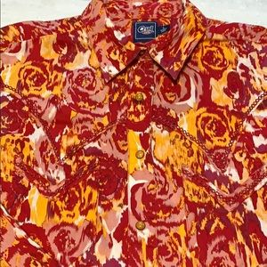 Cruel Girl large Cowgirl Shirt preowned